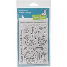 Lawn Fawn Clear Stamp Set - Gnome Sweet Gnome