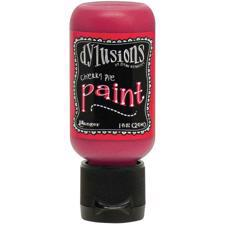 Dylusion Paints Flip-Top Bottle - Cherry Pie