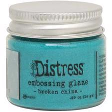 Tim Holtz Distress Embossing GLAZE - Broken China