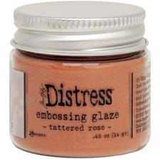 Tim Holtz Distress Embossing GLAZE - Tattered Rose