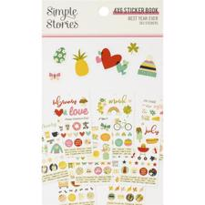 Simple Stories Best Year Ever - Sticker Book