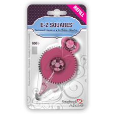 E-Z Runner® - Permanent Squares REFILL (pink)
