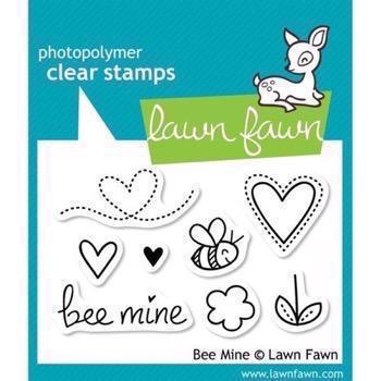 Lawn Fawn Clear Stamp - Bee Mine