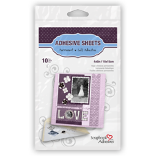 Scrapbook Adhesives - Adhesive Sheets 4x6""