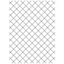 Embossing Folder - Darice / Wire Fence