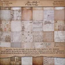 Tim Holtz Paper Pad - French Industrial