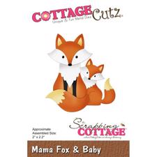 Cottage Cutz  Die -  Mama Fox