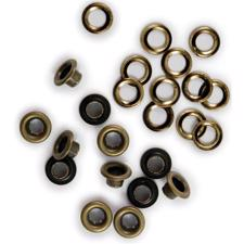 "Eye-Lets & Washers 3/16"" - Brass"