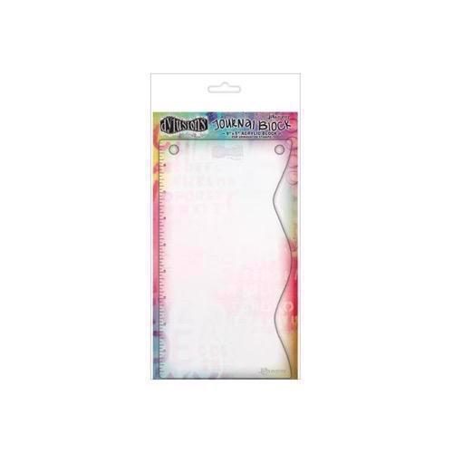 Dylusions - Acrylic Stamp Block