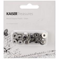 KaiserCraft Metal Drawer Knob- Silver