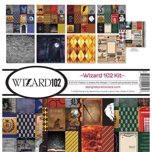 "Reminisce Collection Pack 12x12"" - Wizard 102"