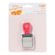 Amy Tangerine Roller Stamp - Yes Please / Phrases (rød)