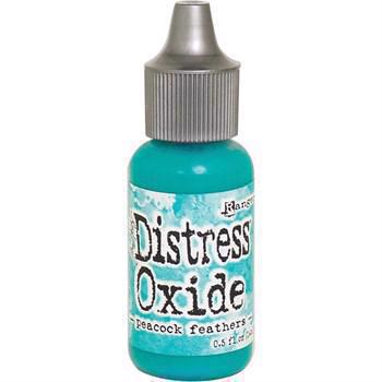 Distress OXIDE Re-Inker - Peacock Feathers (flaske)