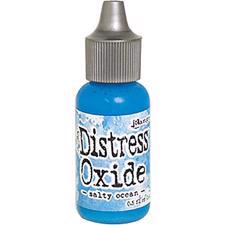 Distress OXIDE Re-Inker - Salty Ocean (flaske)