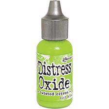 Distress OXIDE Re-Inker - Twisted Citron (flaske)