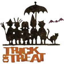 Sizzix Thinlits - Tim Holtz / Trick or Treat