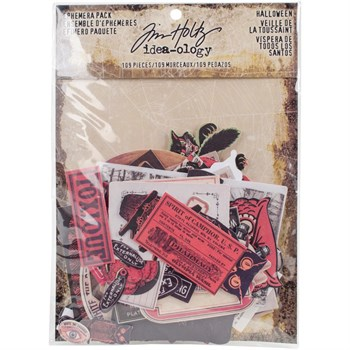Tim Holtz / Idea-ology - Halloween Ephemera