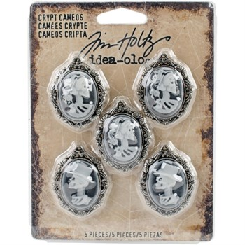 Tim Holtz / Idea-ology - Crypt Cameos / Antique Nickel