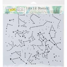 "Crafter's Workshop Template 12x12"" - Constellations"