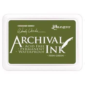 Archival Ink Stempelsværte - Fern Green (Wendy Vecchi collection)