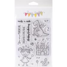 Jane's Doodles Clear Stamp Set - Magical