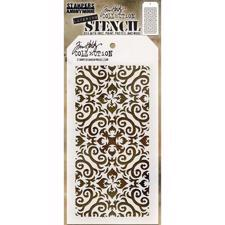 Tim Holtz Layered Stencil - Flames