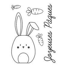 Artemio Mini Clearstamp - Easter Rabbit
