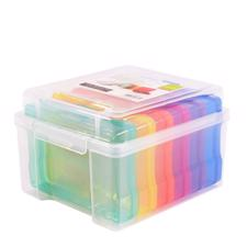 Vaessen Creative Storage Box w. 6 Boxes - Colored