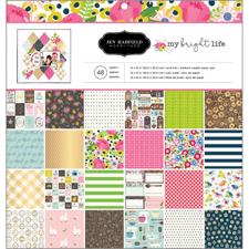 "Jen Hadfield Paper Pad 12x12"" -My Bright Life"