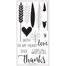 Concord & 9th Stamp Set - Give Thanks