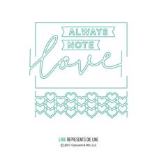 Concord & 9th Die - Love Allways Frame (DIE)