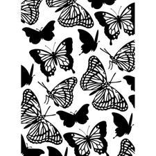 Embossing Folder - Darice / Butterflies