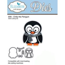 Elizabeth Crafts Die - Chilly the Penguin