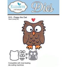 Elizabeth Crafts Die - Poppy the Owl