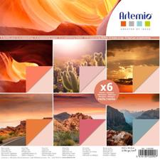 Artemio Paper Pack - Photo Pages / Desert