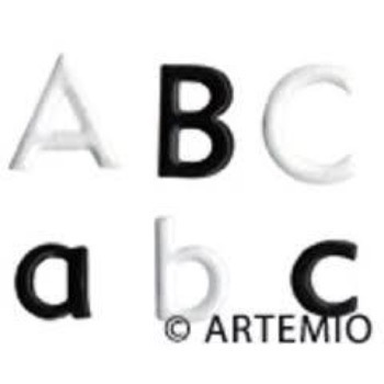 Artemio Alpha Brads - Love (Black&White)