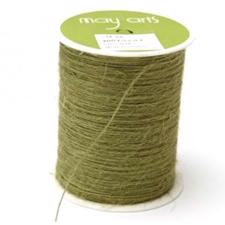 May Arts Burlap String (twine) - Sage