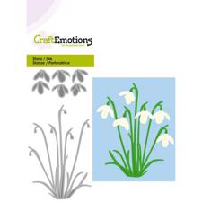 Craft Emotion Dies - Snowdrops