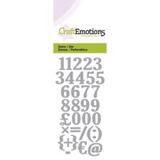Craft Emotion Dies - Numbers (small)