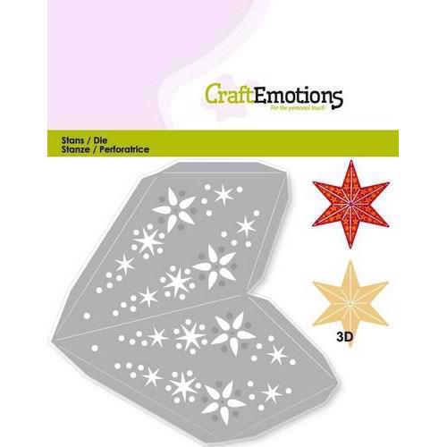 Craft Emotion Dies - Christmas Decoration Star