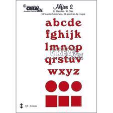 CREAlies Alfies (alfabet) - No. 2 Lowercase