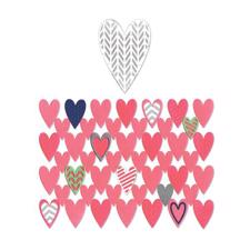 Sizzix Thinlits - Hearts Card Front