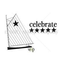 Itty Bitty Cling Stamp - Celebrate