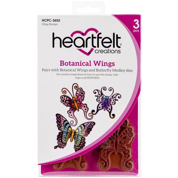 Heartfelt Creation Stamp - Botanical Wings (sommerfugle)