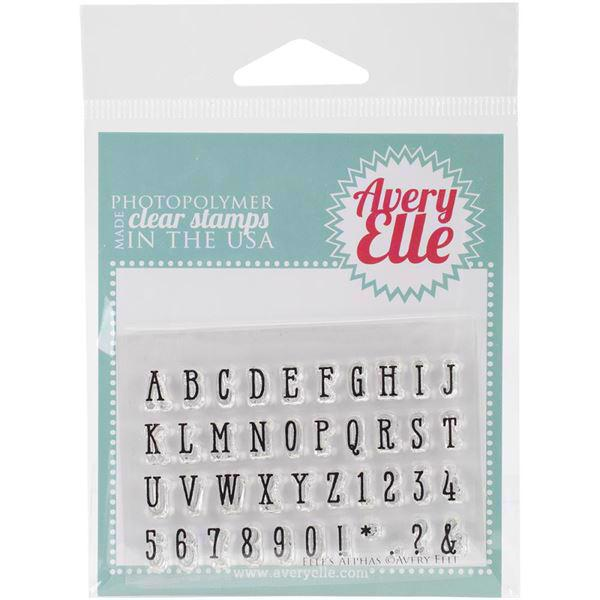Avery Elle Clear Stamp - Elle\'s Alpha\'s