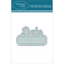 Technique Tuesday DIY Dies - Date
