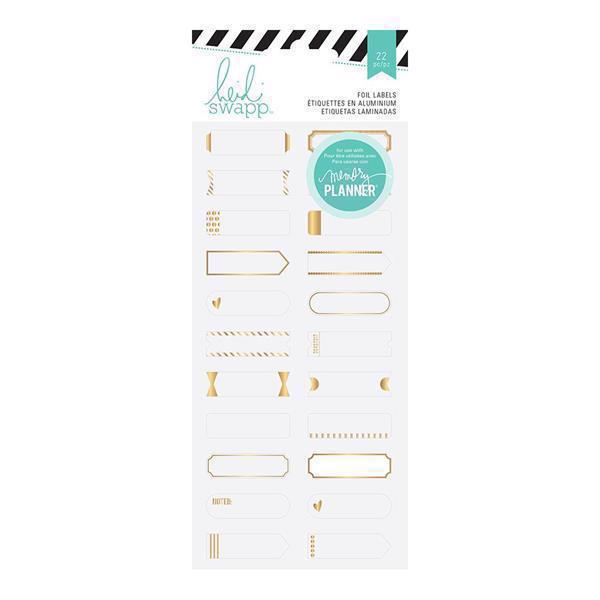 Heidi Swapp Planner System - Hello Beautiful Foil Stickers