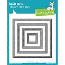 Lawn Cuts - Stitched Squares / Small DIES