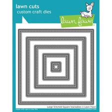 Lawn Cuts - Stitched Squares / Large DIES