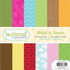 Taylored Expressions Paper Pad - Build a Scene